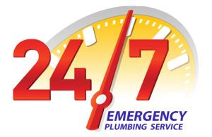 24/7 365 Emergency plumbing service
