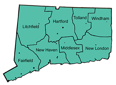 We cover great new haven, west haven, hartford - all of connecticut